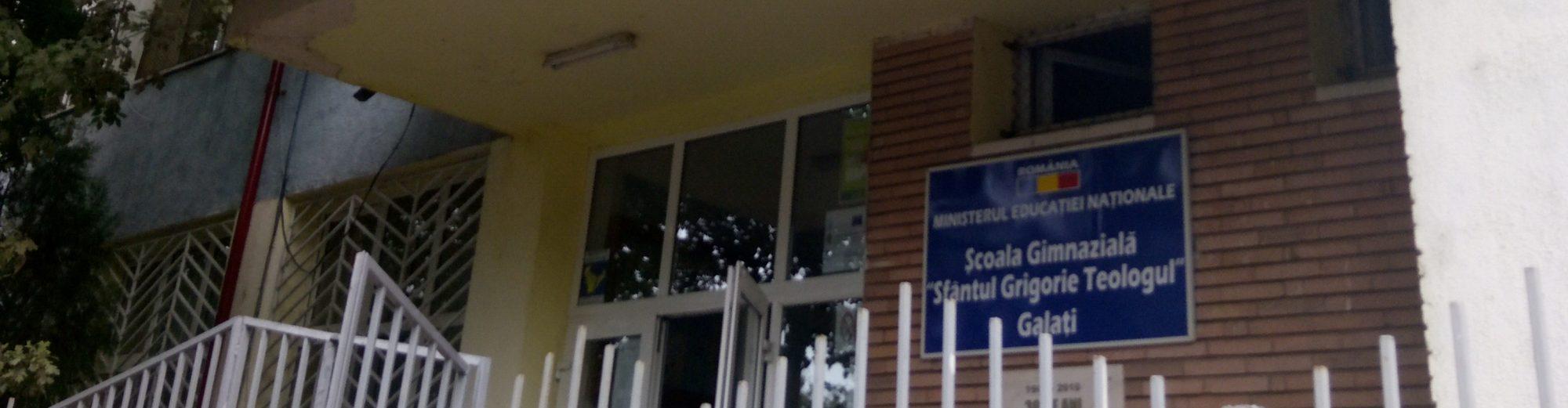 """Școala Gimnazială """"Sfântul Grigorie Teologul"""" Galați"""